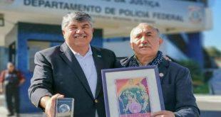 Richard Trumka and Pepe Alvarez