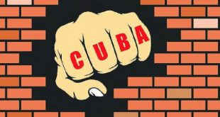 us blockade against cuba, illustration by falco