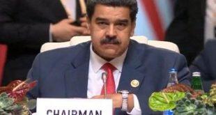 venezuela president nicolas maduro in 18th noal summit
