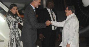 Felipe and Letizia arrive in Havana