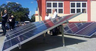 training phovoltaic park opens in havana's cujae university