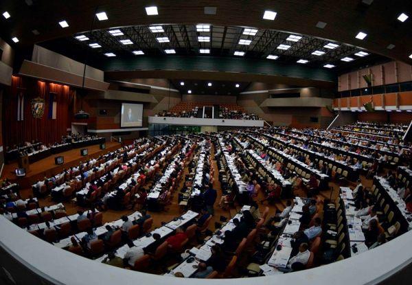 cuba parlamentarias in session