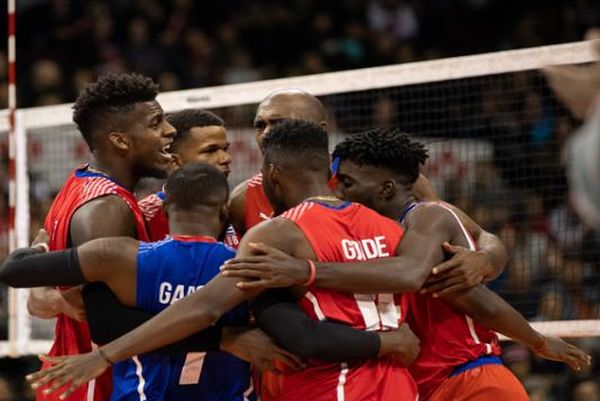 cuba men's volleyball team