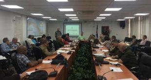 cuban health authorities meeting on coronavoirus surveillance system