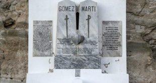 marti monument in playita de cajobabo