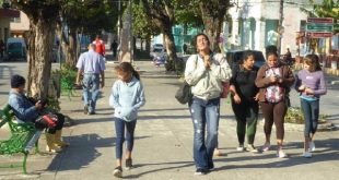 Residents of Sancti Spiritus have been finally able to wear their coats this winter.