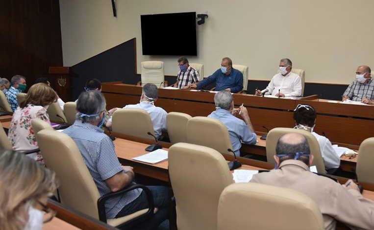 cuba, miguel diaz-canel, coronavirus, covid-19, cuban president