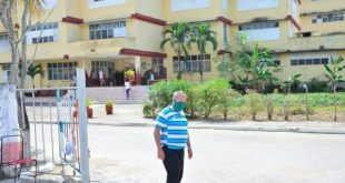 The Alberto Delgado School is one of the institutions serving as an isolation facilty.