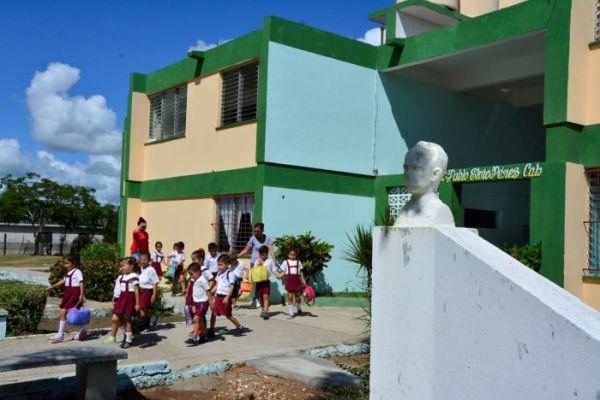 primary school in sancti spiritus