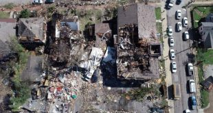 tornado damages on tennessee