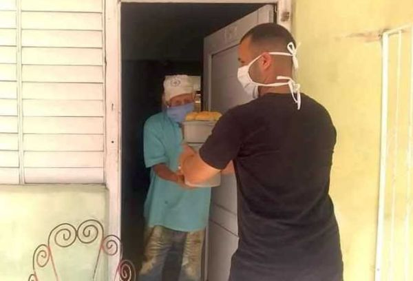 people under family care program in sancti spiritus