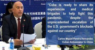 cuba ambassador to china
