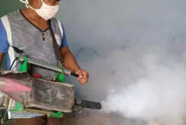 fumigation campaign in sancti spiritus, central cuba