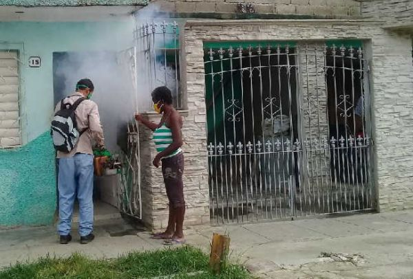 fumigation campaign in sancti spiritus, central cuba1