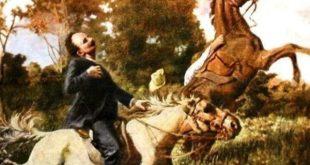 Death of Marti in Dos Rios, by Esteban Valderrama
