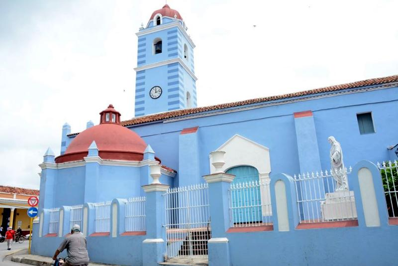The Iglesia Mayor, one of the architecture landmarks of Sancti Spiritus