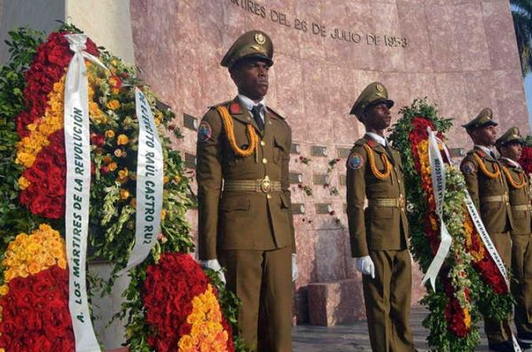 flowers for cuban martyrs of the revolution