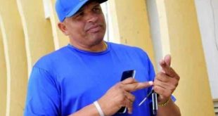 Eriel-Sanchez, coach of sancti spiritus baseball team