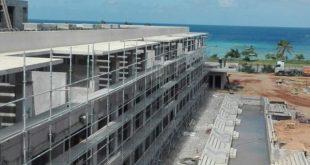 Contruction of Melia Trinidad Hotel