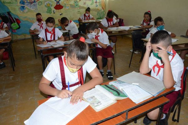 anti-coronavirus measures in primary schools in sancti spiritus, cuba