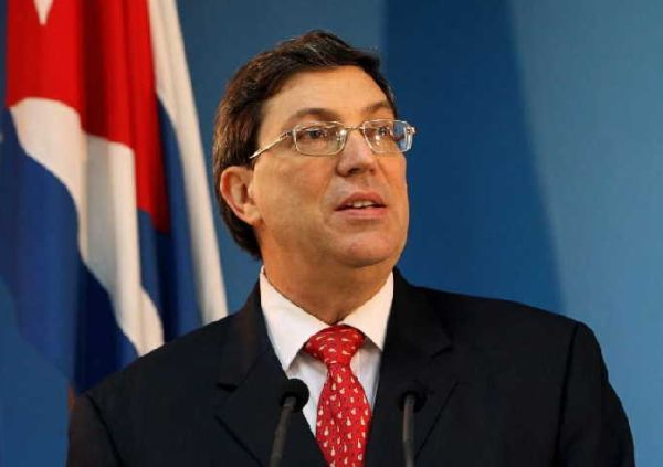 cuban foreign minister bruno rodriguez parrilla