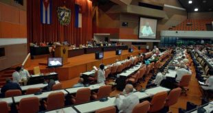 session of Cuba parliament