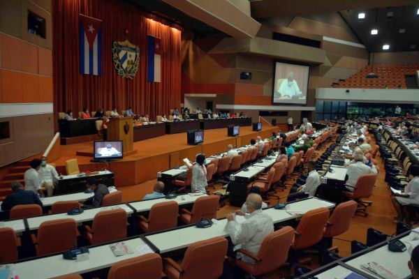 session of Cuba parliament