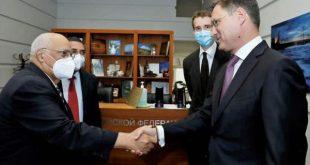 ricardo cabrisa's visit to russia