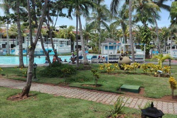 View of Memories Trinidad del Mar Hotel in the Ancon Peninsula, municipality of Trinidad, Sancti Spiritus, Cuba