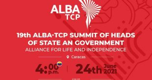 alba-tcp 19th summit of heads of states