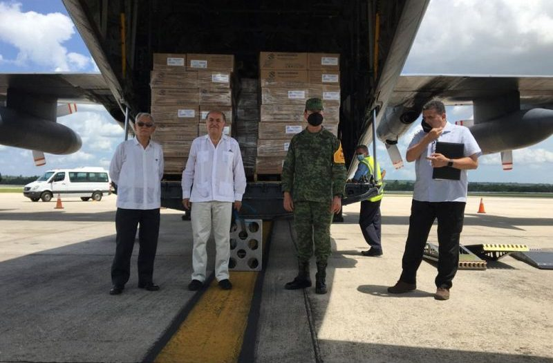 donation-to-cuba-from-celac-to-fight-covid-19