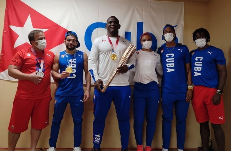 Cuba-athletes-in-Tokyo