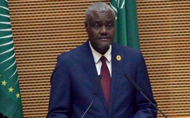 african union chairperson moussa faki