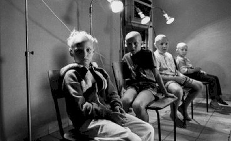 children from chernobil treated in tarará, cuba
