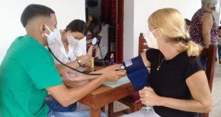 covid-19 vaccination ste in sancti spiritus, central cuba