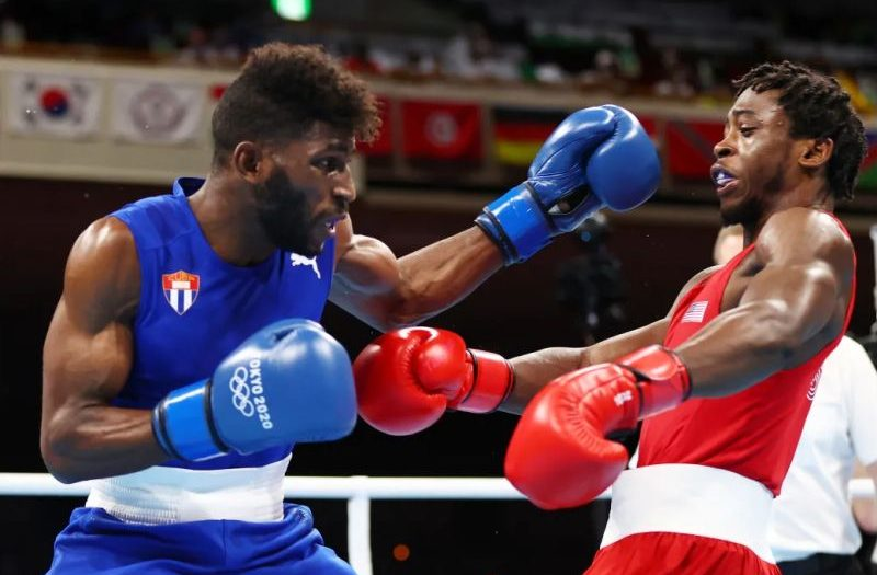 cuban boxer andy cruz in tokyo 2020 (a)