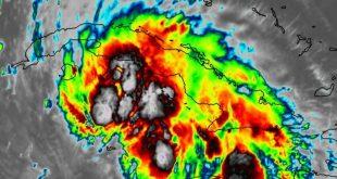 tropical storm ida, august 27