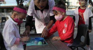 children in day care, sancti spiritus, cuba