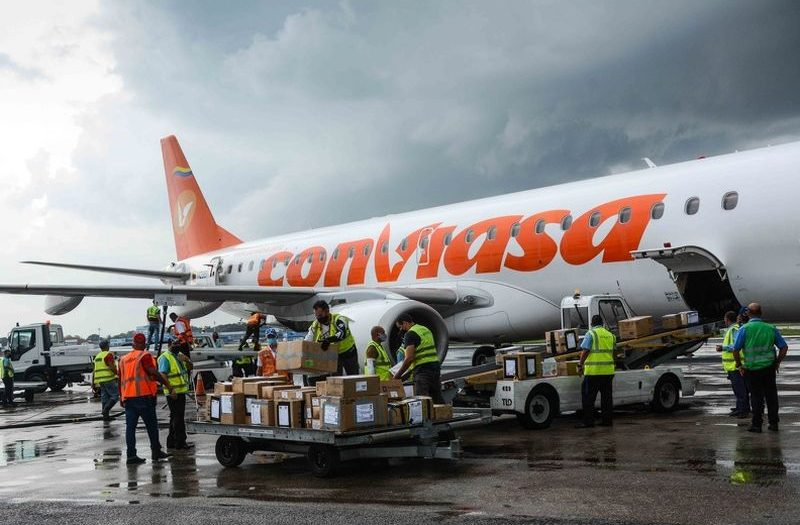 medical supplies from caribbean countries arrive in cuba