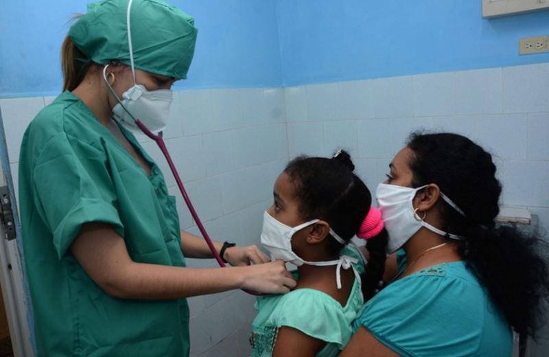 pediatric patient in covid-19 clinic