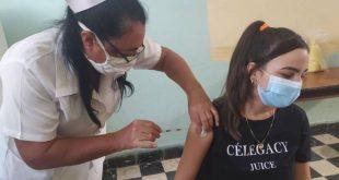 vaccination in pediatric ages in sancti spiritus